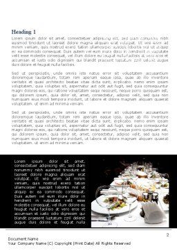 Banquet Table Word Template, First Inner Page, 08354, Food & Beverage — PoweredTemplate.com