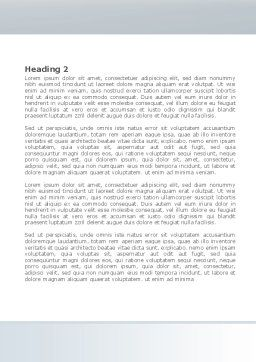 Boardroom Word Template, Second Inner Page, 08363, Business — PoweredTemplate.com