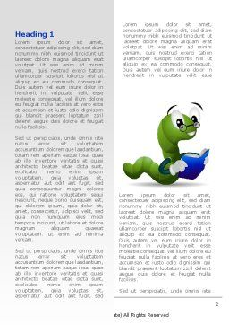Smart Worm Word Template First Inner Page
