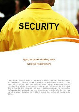 Safeness Word Template, Cover Page, 08388, Careers/Industry — PoweredTemplate.com