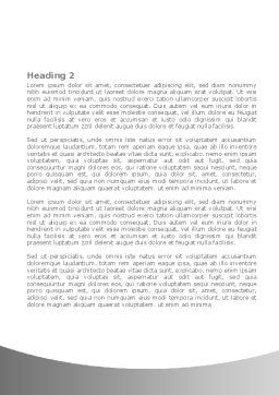Steel Jigsaw Word Template, Second Inner Page, 08390, Consulting — PoweredTemplate.com