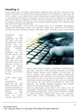 Gaming Computer Keyboard Word Template, First Inner Page, 08399, Technology, Science & Computers — PoweredTemplate.com