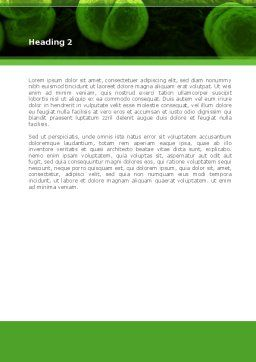 Meningococcus Word Template, Second Inner Page, 08407, Medical — PoweredTemplate.com