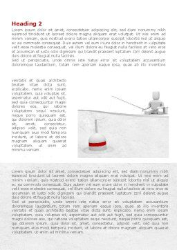 Fisherman Word Template, First Inner Page, 08416, Consulting — PoweredTemplate.com