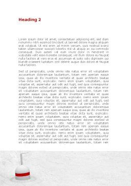 Fisherman Word Template, Second Inner Page, 08416, Consulting — PoweredTemplate.com