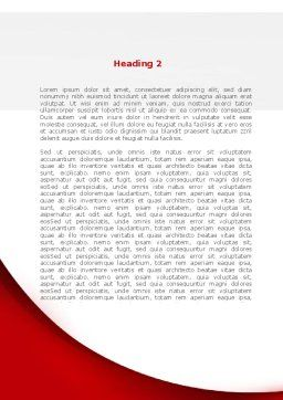 Blood Test Result Word Template, Second Inner Page, 08419, Medical — PoweredTemplate.com