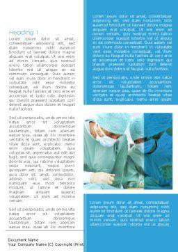 Surgery Internship Word Template, First Inner Page, 08427, Medical — PoweredTemplate.com