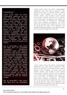 Global Credits Word Template, First Inner Page, 08434, Technology, Science & Computers — PoweredTemplate.com