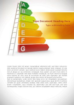 Energy Efficiency Rating Word Template Cover Page