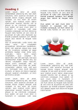 Reading People Word Template, First Inner Page, 08448, Education & Training — PoweredTemplate.com