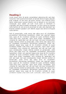 Reading People Word Template, Second Inner Page, 08448, Education & Training — PoweredTemplate.com