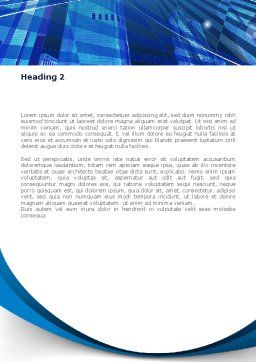Business Planet Word Template Second Inner Page