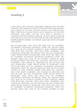 Chemical Industry Rectification Column Word Template, Second Inner Page, 08526, Utilities/Industrial — PoweredTemplate.com