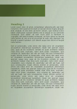 Source Of Knowledge Word Template, Second Inner Page, 08530, Education & Training — PoweredTemplate.com