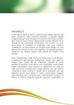 Mixture Word Template, Second Inner Page, 08548, Medical — PoweredTemplate.com