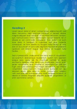 Mortgage Banking Word Template, Second Inner Page, 08553, Consulting — PoweredTemplate.com