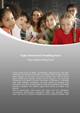 Primary Form Word Template Cover Page