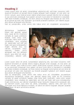 Primary Form Word Template First Inner Page