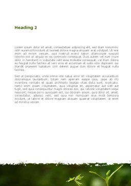 Business Building Up Word Template Second Inner Page