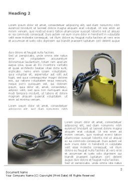 Security Guarantee Word Template, First Inner Page, 08594, Consulting — PoweredTemplate.com