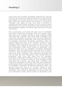 Security Guarantee Word Template, Second Inner Page, 08594, Consulting — PoweredTemplate.com