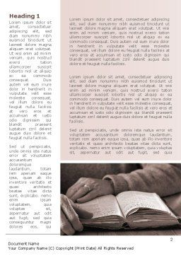 Bible Study Word Template First Inner Page