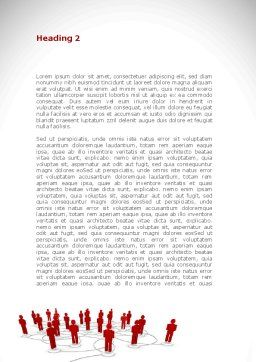 Internet Community Word Template, Second Inner Page, 08617, Technology, Science & Computers — PoweredTemplate.com