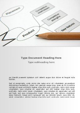 Marketing Ploy Word Template, Cover Page, 08618, Consulting — PoweredTemplate.com