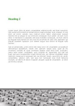 Ecocar Word Template Second Inner Page