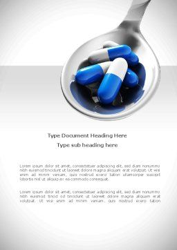 Pharmacology Word Template Cover Page