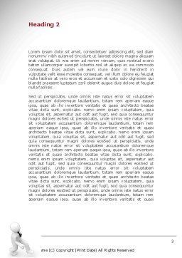 Promotion Word Template, Second Inner Page, 08645, Careers/Industry — PoweredTemplate.com