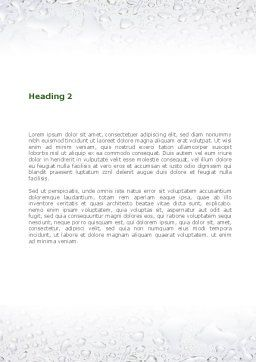 Hydroponics Word Template, Second Inner Page, 08683, Nature & Environment — PoweredTemplate.com