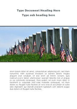 Memorable Events Word Template, Cover Page, 08686, America — PoweredTemplate.com