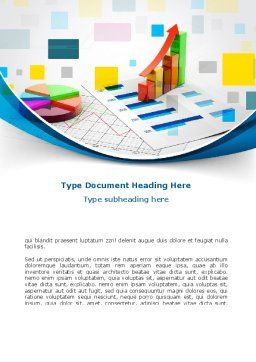 Analytics Word Template, Cover Page, 08700, Consulting — PoweredTemplate.com