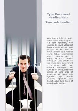 Anger Management Word Template, Cover Page, 08718, Medical — PoweredTemplate.com