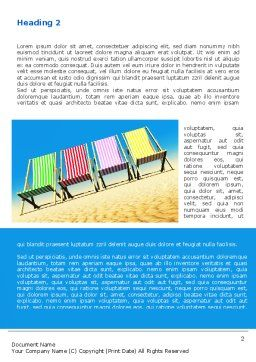 Lounge Beach Word Template, First Inner Page, 08728, Careers/Industry — PoweredTemplate.com