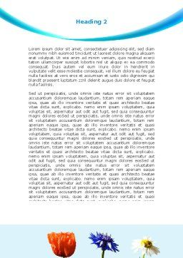 Modern Hydroponics Word Template, Second Inner Page, 08732, Technology, Science & Computers — PoweredTemplate.com