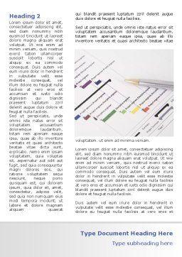 Gantt Project Diagram Word Template, First Inner Page, 08742, Business — PoweredTemplate.com
