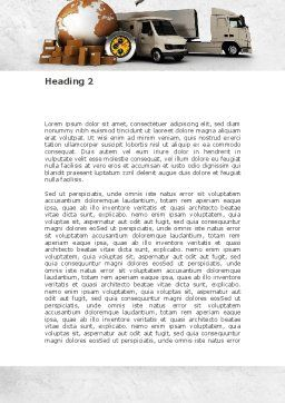 Shipping Service Word Template, Second Inner Page, 08751, Cars/Transportation — PoweredTemplate.com