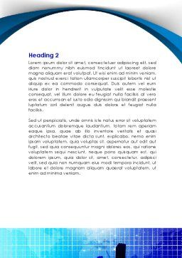 Diagram Analysis Word Template, Second Inner Page, 08770, Consulting — PoweredTemplate.com
