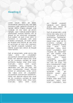 Vascular Surgery Word Template, Second Inner Page, 08802, Medical — PoweredTemplate.com