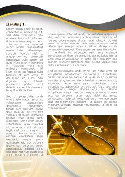 Treatment Of Hereditary Diseases Word Template, First Inner Page, 08848, Medical — PoweredTemplate.com