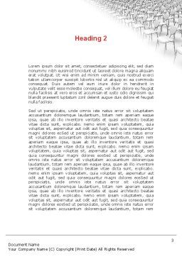 Outstanding Word Template Second Inner Page
