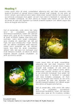 Global Business Word Template, First Inner Page, 08865, Global — PoweredTemplate.com