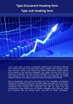 Graphical Analysis Word Template, Cover Page, 08882, Business — PoweredTemplate.com