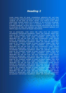 Epidemic Protective Measures Word Template, Second Inner Page, 08888, Medical — PoweredTemplate.com