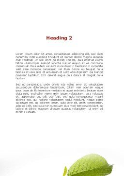 Sweet Red Apple Word Template, Second Inner Page, 08906, Business Concepts — PoweredTemplate.com
