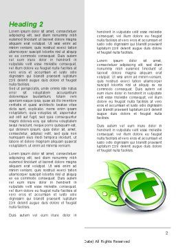 Herbal Pharmacy Word Template, First Inner Page, 08925, Medical — PoweredTemplate.com