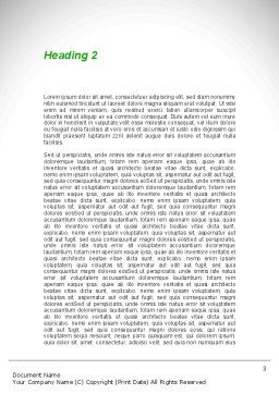 Herbal Pharmacy Word Template, Second Inner Page, 08925, Medical — PoweredTemplate.com