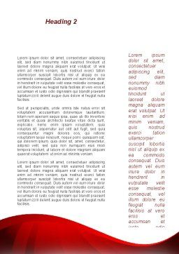 Justice and Court Word Template, Second Inner Page, 08943, Legal — PoweredTemplate.com
